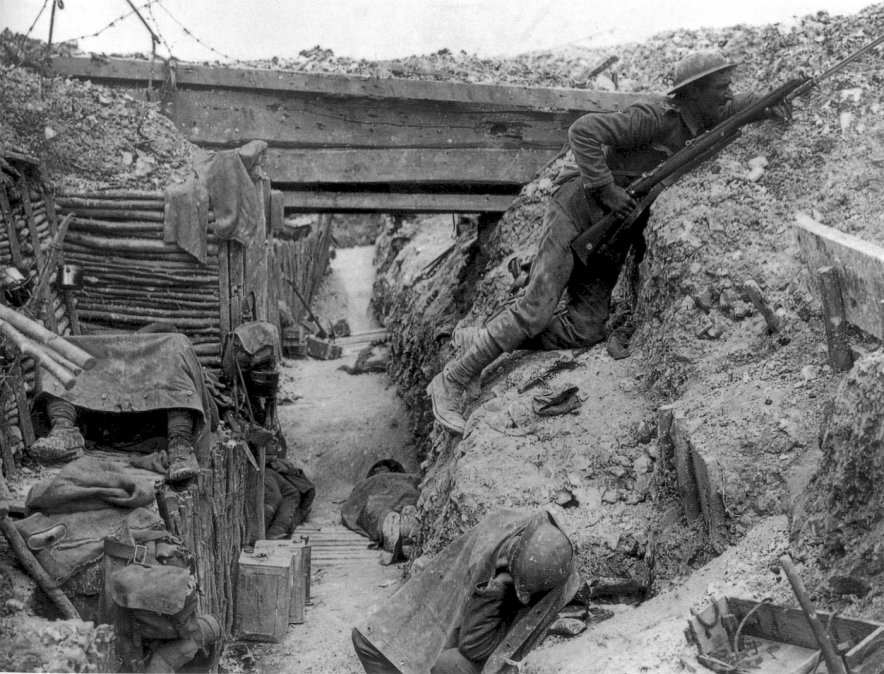 El inicio de la Primera Guerra Mundial