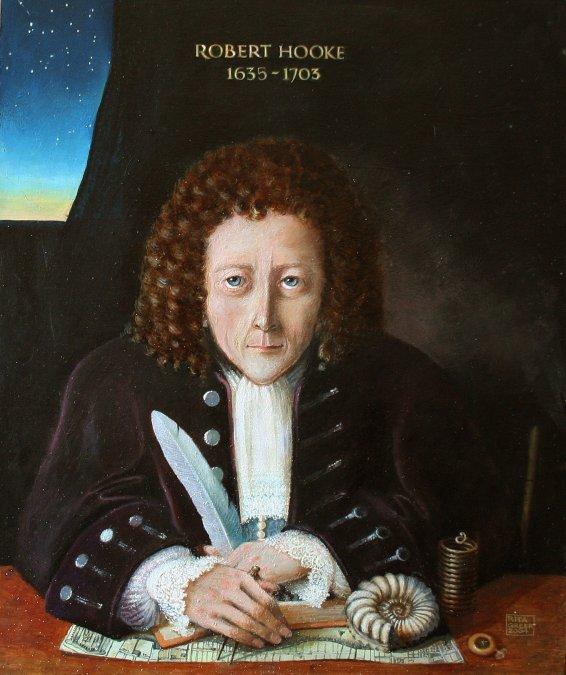 El genio olvidado de Robert Hooke