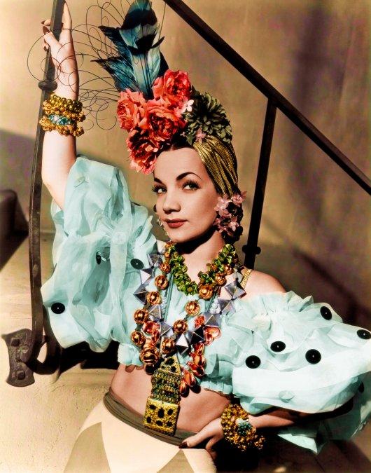 Carmen Miranda, la efímera bomba brasileña