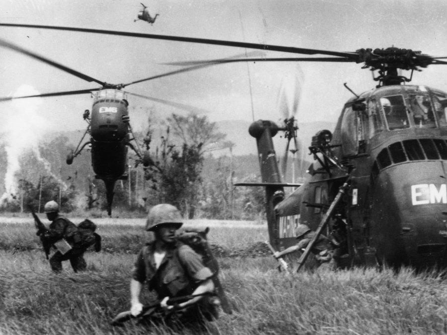 El inicio de la guerra de Vietnam