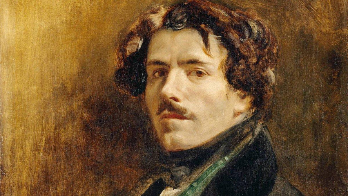 Eugène Delacroix, el prolífico y aún vigente pintor francés