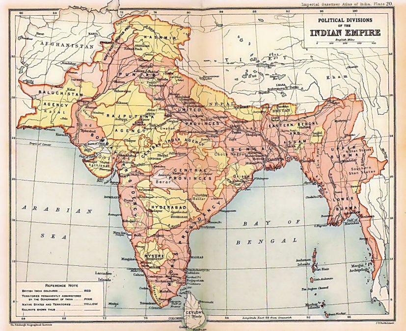 El Imperio Indio Británico