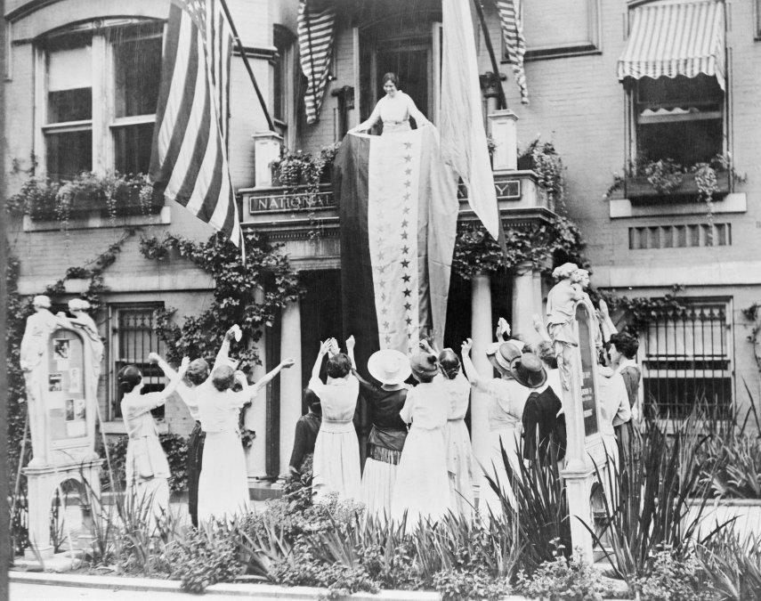 La 19a Enmienda y el voto femenino en EEUU