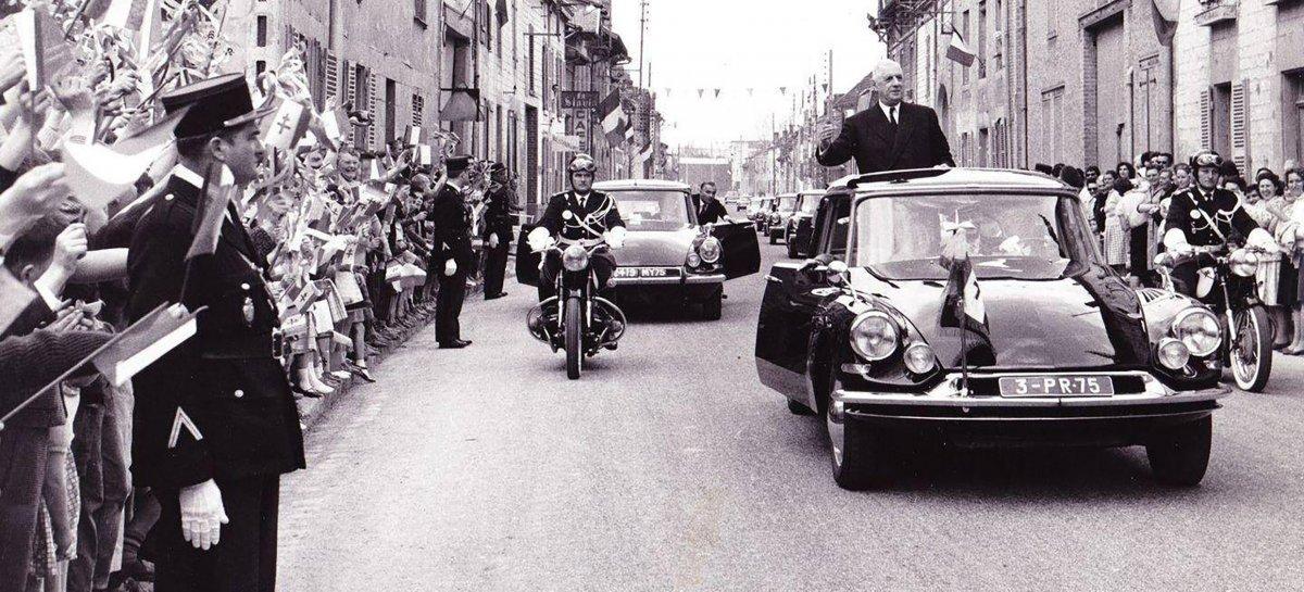 El auto que le salvó la vida al presidente de Francia Charles de Gaulle
