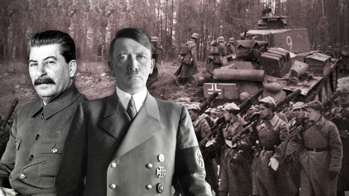 Stalin se une a Hitler