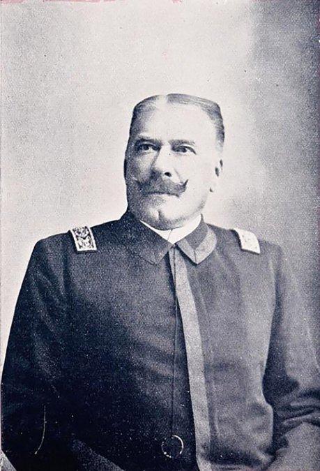 La muerte del almirante Solier a bordo del Varuna