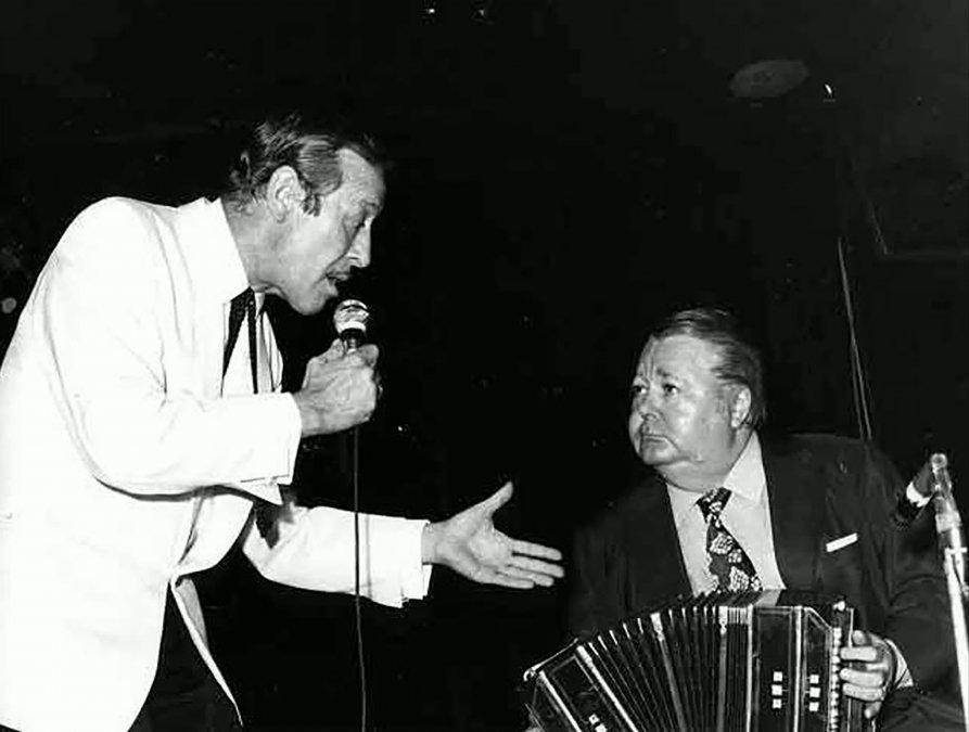 Roberto Goyeneche con Aníbal Troilo