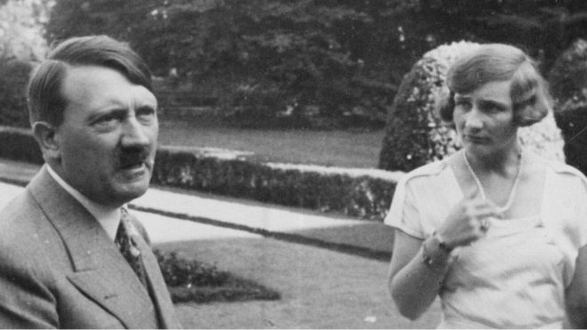 La amante inglesa del Führer