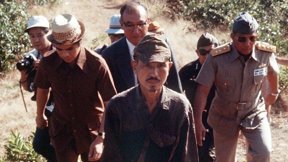 El lugarteniente Hiroo Onda abandonó la jungla de Filipinas en 1974