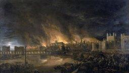 altText(El Gran Incendio de Londres de 1666)}