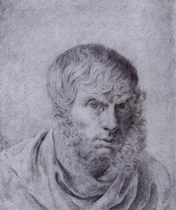 Caspar David Friedrich - Autorretrato