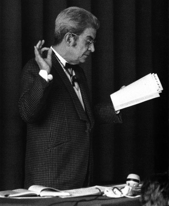 La muerte del psicoanalista Jacques Lacan