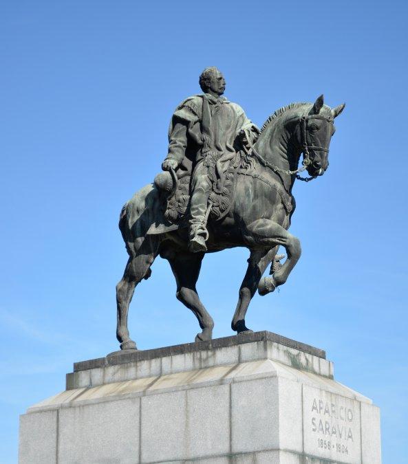 La muerte del general Aparicio Saravia, uno de los últimos jefes montonero y guerrillero