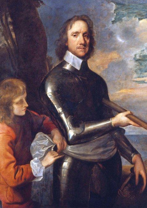 Oliver Cromwell instauró en Inglaterra una dictadura de inspiración puritana.