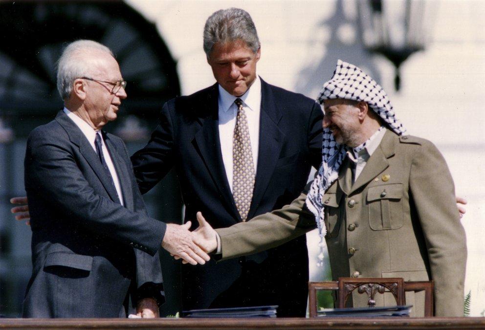 Acuerdo de paz entre palestinos e israelíes