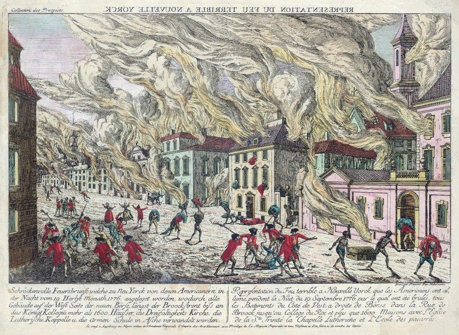 Gran incendio de Nueva York (1776)