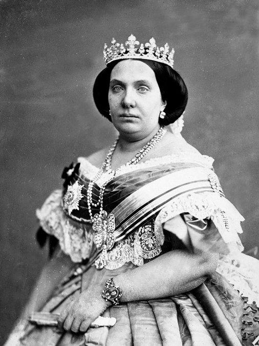 sabel II de España hacia 1860.