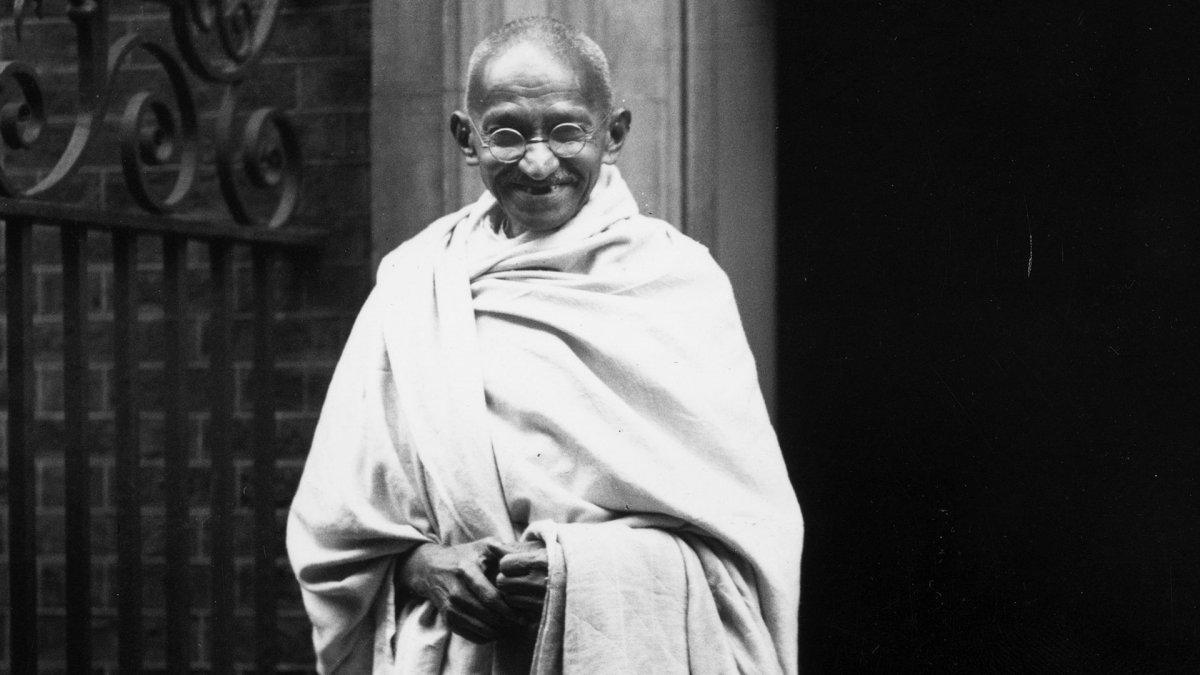 El día de la no violencia, el día de Mahatma Gandhi