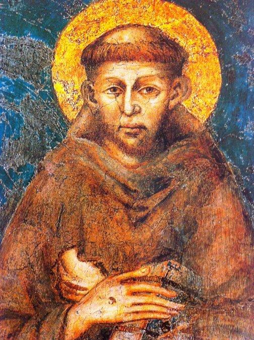 Así murió san Francisco de Asís