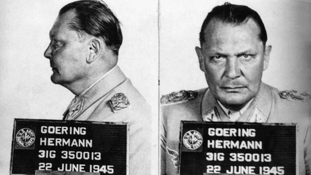 Hermann Goering escapa de la horca