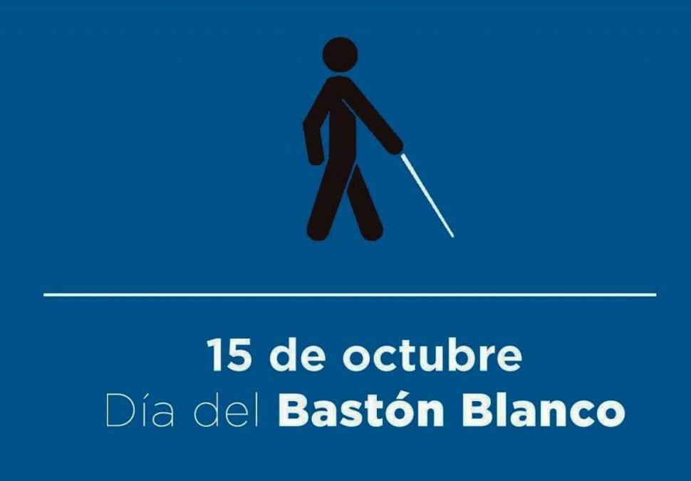 15 de octubre: el bastón blanco, ¿un invento argentino?