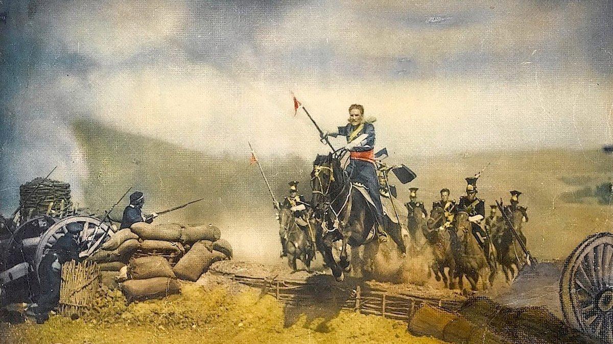 La batalla de Balaclava (25 de octubre de 1854)