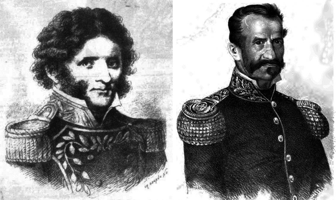 Combate de el Tala: Las luchas entre Lamadrid y Quiroga