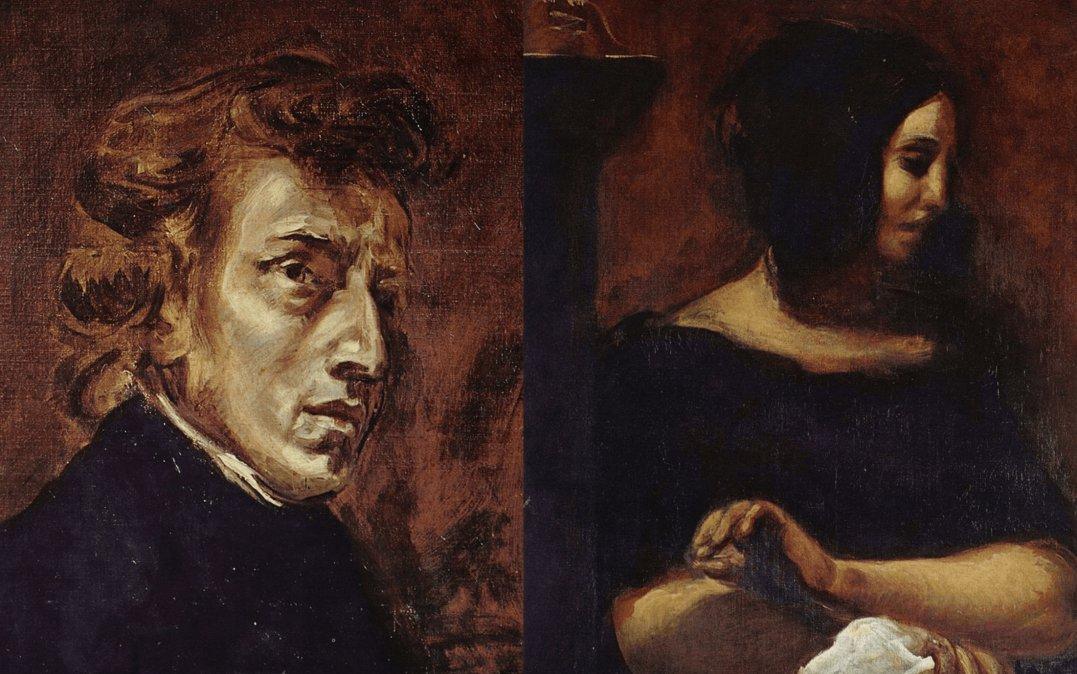 La interesante historia de amor de Fréderic Chopin y George Sand