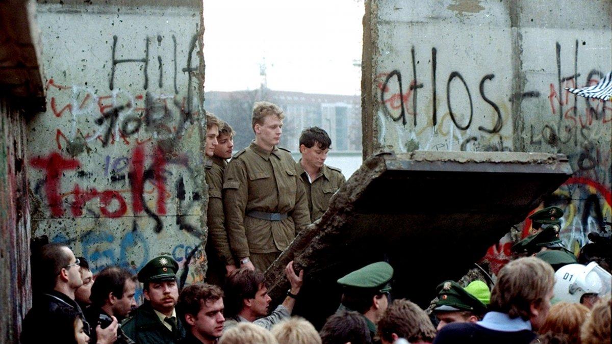 La caída del Muro, el fin de una era