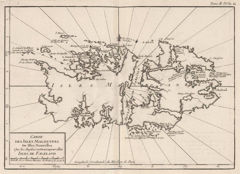 Cuando las Malvinas fueron francesas