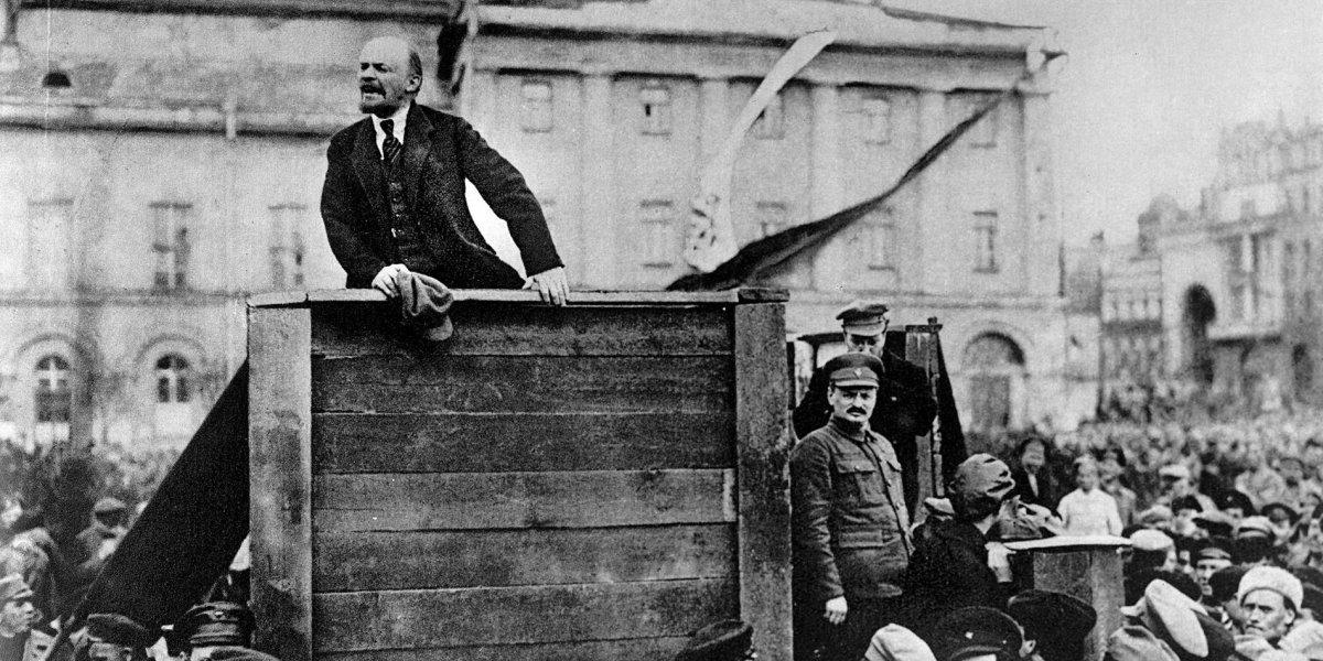 Alemania ayuda a Lenin
