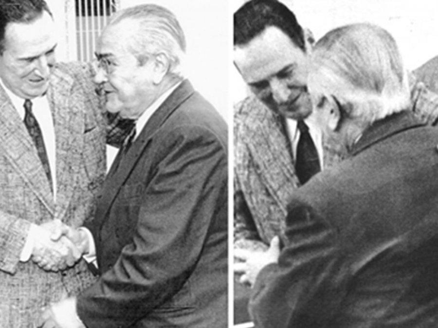 Aquel abrazo entre Perón y Balbín