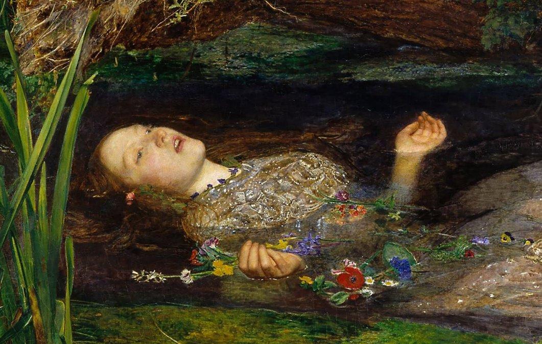 Ofelia es una obra realizada por el pintor inglés John Everett Millais en torno a 1852. En la actualidad el cuadro se encuentra en el Museo Tate Britain de Londres.