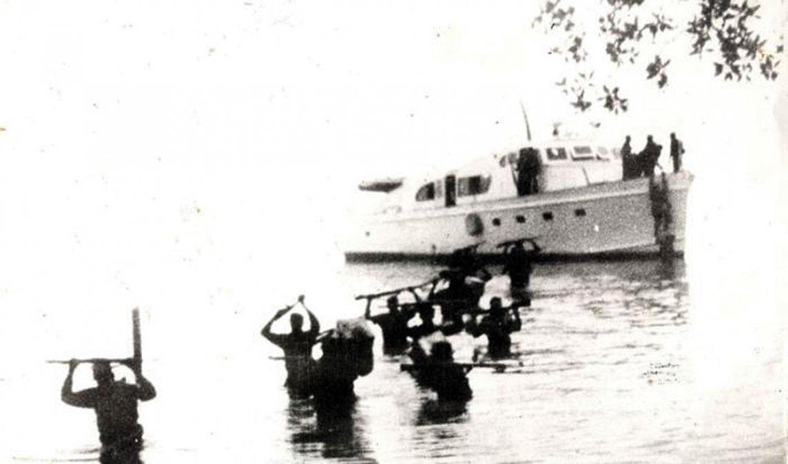 Historia del Granma, desde noviembre de 1956