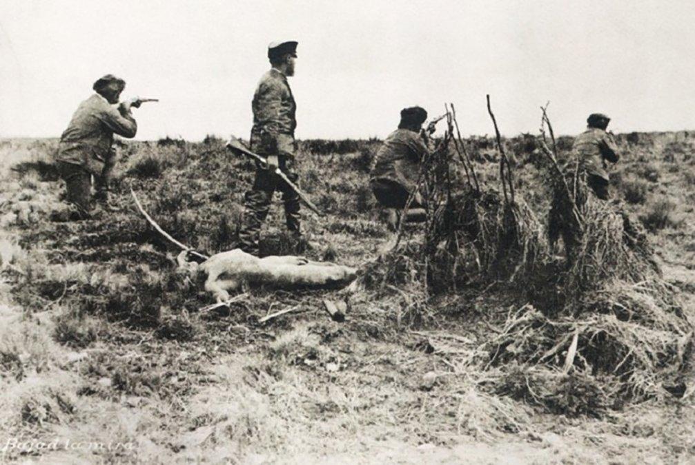 Cazadores de indios y matanzas en Tierra de Fuego