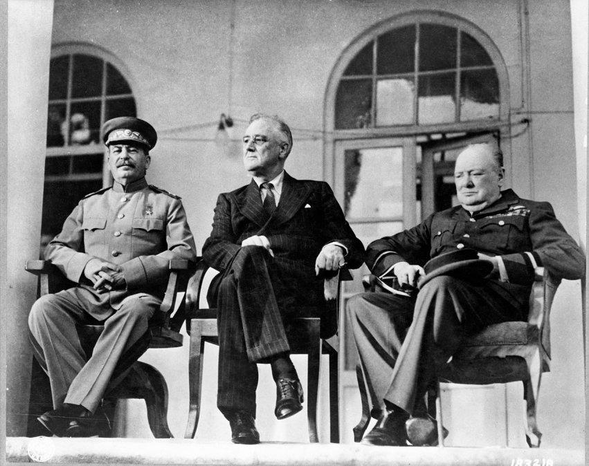Conferencia de Teherán, el principio del fin