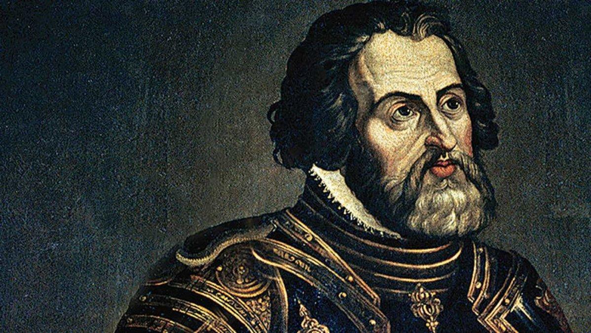 La muerte del conquistador Hernán Cortés