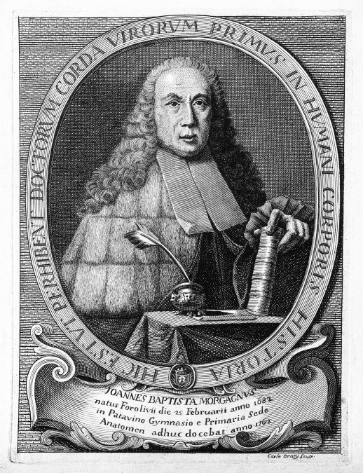 Giovanni Battista Morgagni (1682-1771)