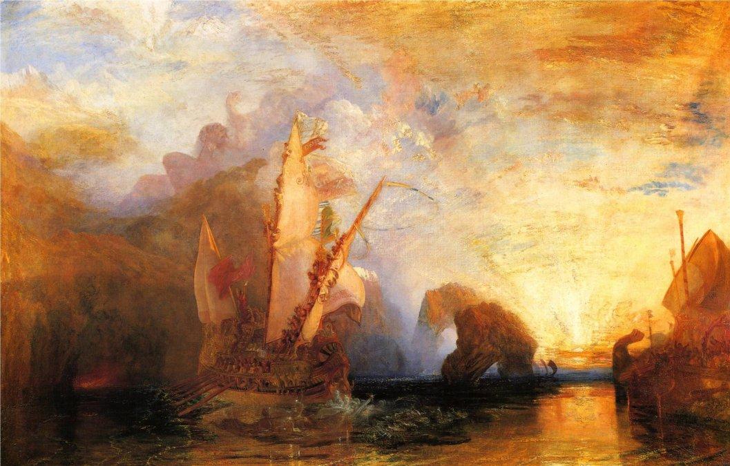 William Turner, el pintor de tormentas