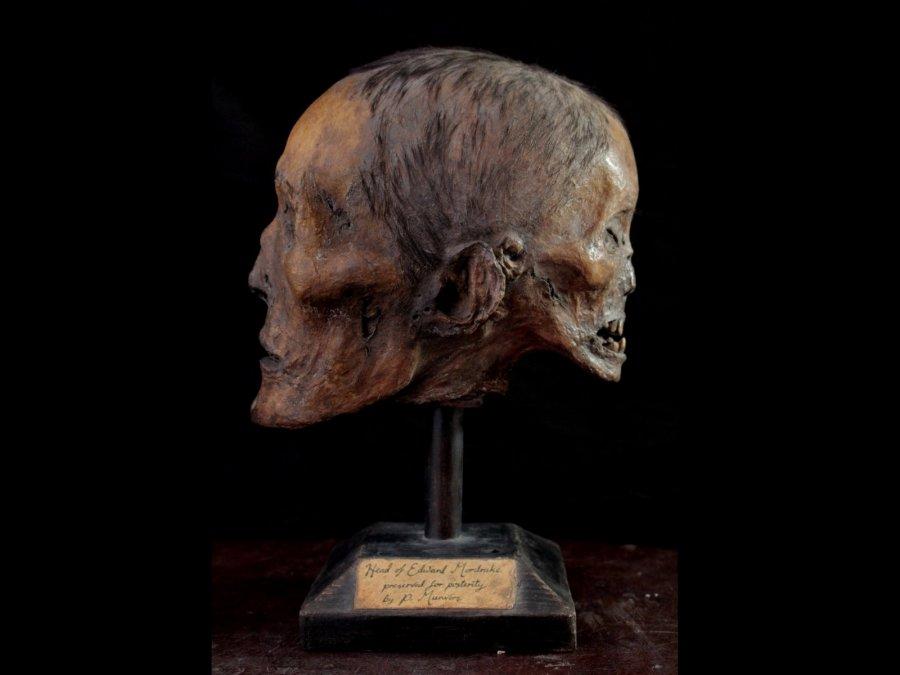 El cráneo de Edward Mordrake