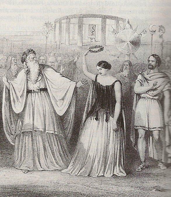 El estreno de la ópera Norma, de Vincenzo Bellini