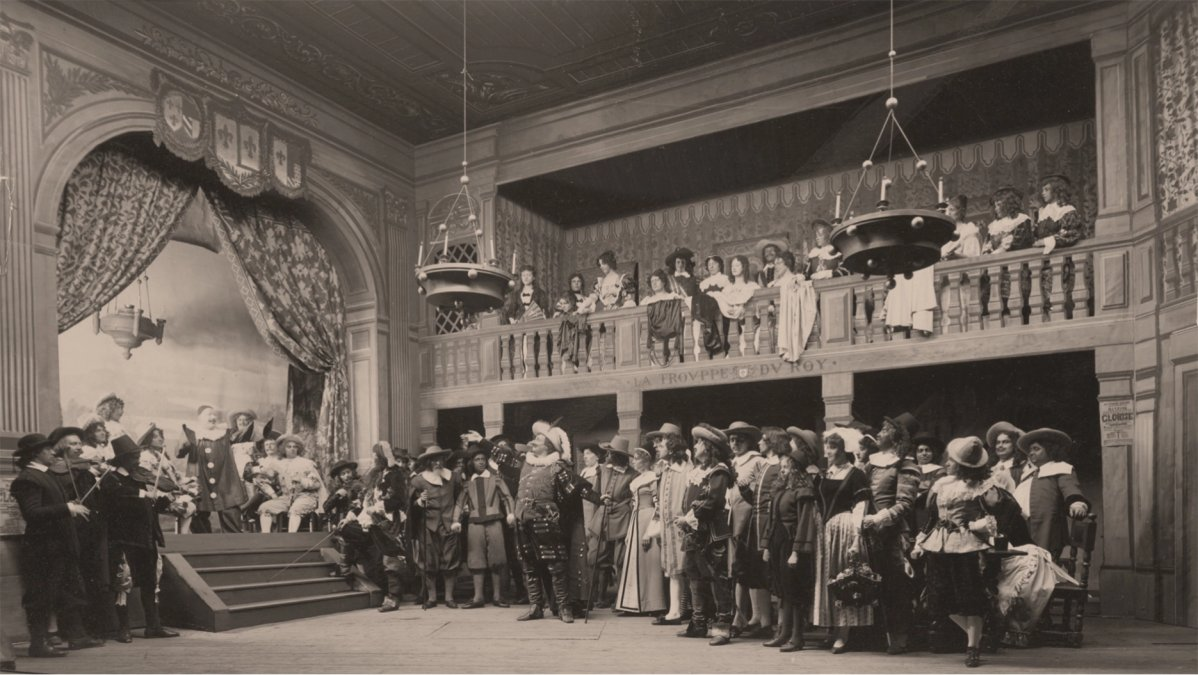 El estreno de Cyrano de Bergerac