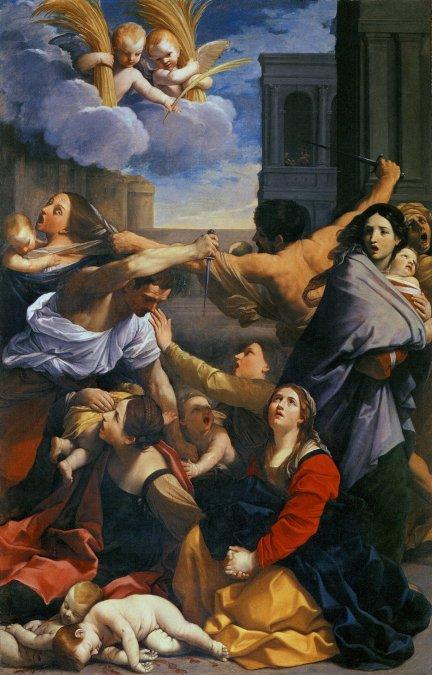 En La matanza de los inocentes (1611)
