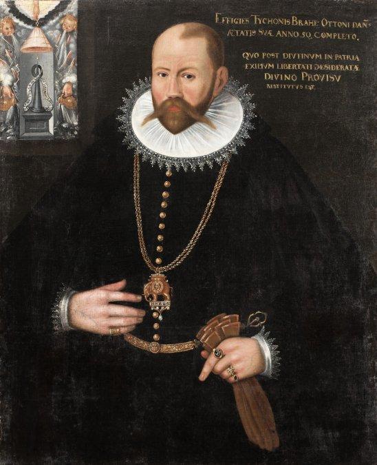 Retrato de Tycho Brahe