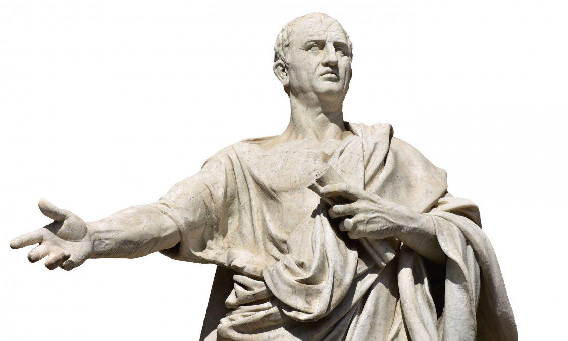 Cicerón: la razón frente a la fuerza