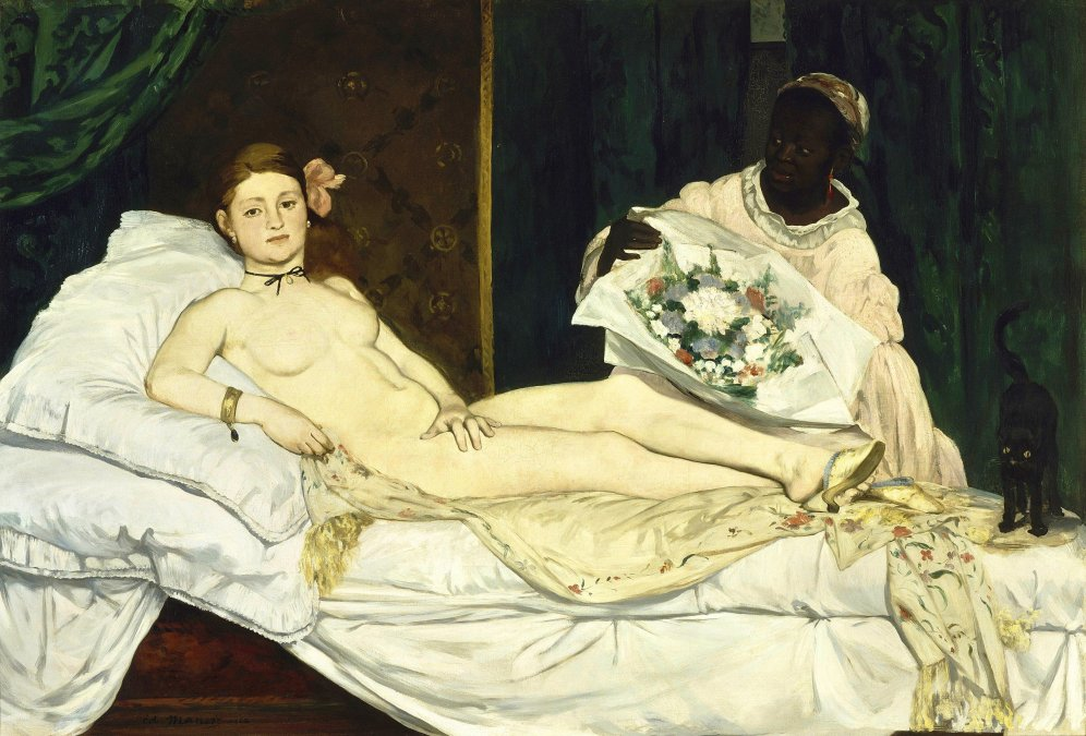 1865 - Olympia - Manet - Museo de Orsay