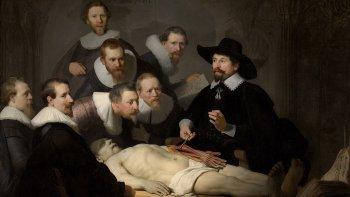 Rembrandt y sus lecciones de anatomía