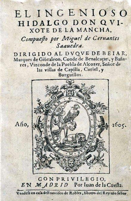 La primera edición de El Quijote de Cervantes no fue tan  glamourosa como quizá imaginéis. Hecha con prisa