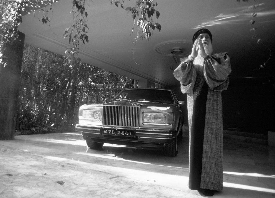 Osho, el gurú del sexo propietario de 93 Rolls-Royce