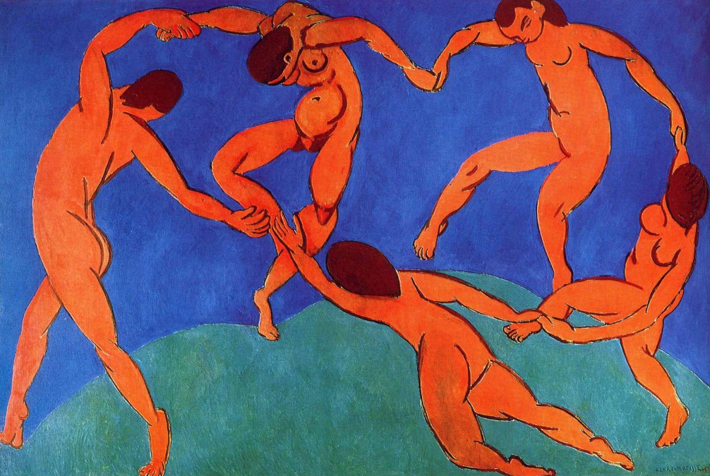 1910 - La Danza  Henri Matisse - San Petersburgo
